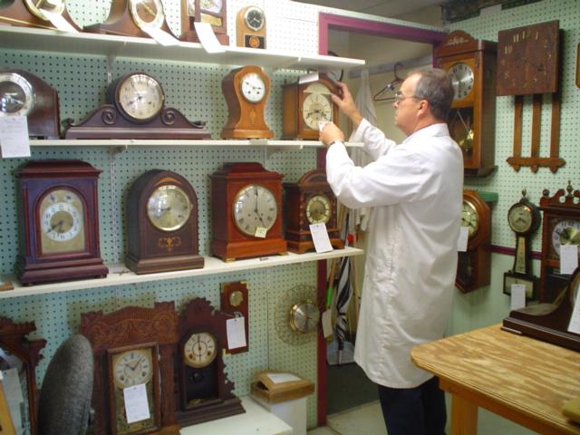 Heritage Clock Shop Storefront