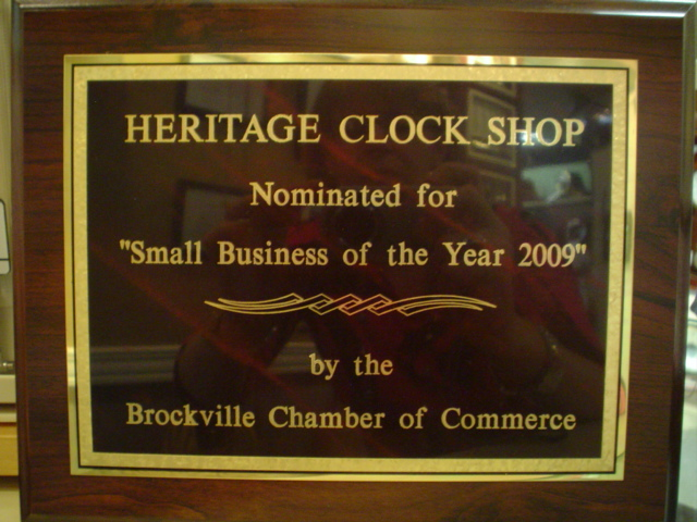 Small Business of the Year Award, 2009